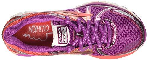 Brooks Adrenaline Gts 17, Chaussures de Course Femme Rose (Vividviola/bittersweet/fusioncoral)