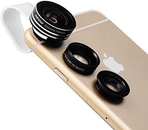 Mpow 3 in 1 Clip-O Supreme Fisheye lens