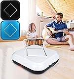 Altsommer USB Automatischer Smart Staubsauger Roboter für Möbel, Sofas, Automatische Erfassungsvorrichtung,Flexibel,Ultra Saugroboter mit 2000ml Staubaufnahmekarton Kapazität (Schwarz)