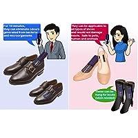 Unlimited Quantity 2x tragbare UV-C-Sterilisator für Schuhe, Stoff, Handschuh, Cap, Helm, Closet–Gerüche aus Bakterien