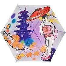 Hecho paraguas plegable paraguas UV corte Kyoto de Japón