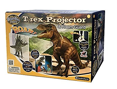 Brainstorm Toys T-Rex Projector and Room Guard from Brainstorm