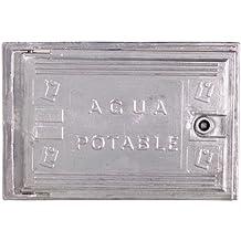 Wolfpack 4090505 Puerta Contador Agua Aluminio 300x400
