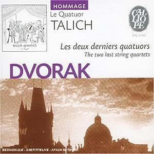 Dvorak : les deux derniers Quatuors à cordes, op.105 et 106 [Import anglais]