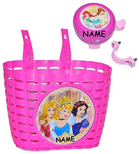 Korb + Klingel Disney Prinzessin incl. Namen