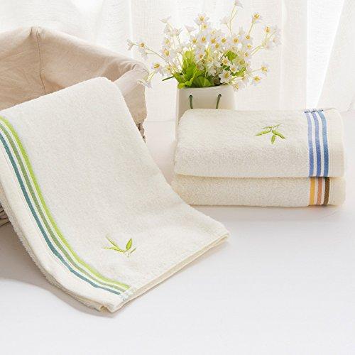 ERRU- Asciugamano di cotone / Plain fibra di bambù polpa Washcloth / morbido assorbente asciugamano (Tovagliolo Di Mano Washcloth)