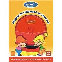 J'apprends l'allemand en chantant (1 livre + 1 CD audio)
