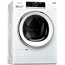 Whirlpool HSCX 80424 Independiente Carga frontal A++ Blanco lavadora - Lavadora-secadora (Carga frontal, Independiente, Blanco, Giratorio, Acero inoxidable, 8 kg)