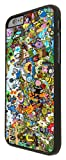 """iphone 6 4.7"""" Cool Funky adventure time Cartoon Funny Design Fashion Trend Hard Plastic CASE Back COVER-White / Black/ Clear - Select your Frame Colour from the drop box Below (Black)"""