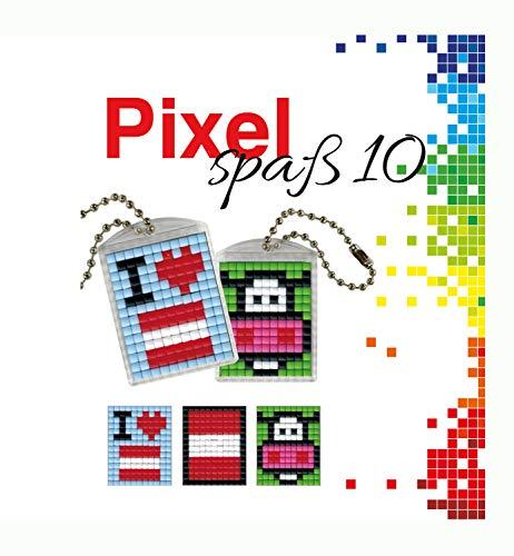 Pracht Creatives Hobby P90020-00505 - Juego de Manualidades para 2 medallones, Llavero, para niños, niños y niñas, como pequeño Regalo, para cumpleaños Infantiles