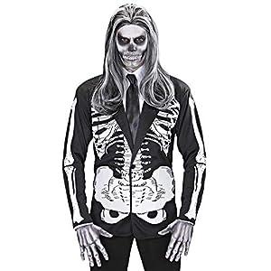 WIDMANN Widman - Disfraz de halloween esqueleto adultos, talla M