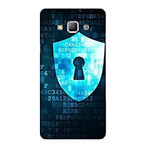 Gorgeous Cyber Secur Print Back Case Cover for Galaxy A7