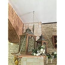MENSOLA SOSPESA ALTALENA CON SPAGO DA APPENDERE LEGNO NATURALE VERNICIABILE GRIGLIA ESPOSITORE SHOWROOM CASA BAR ARTIGIANALE COMODINO VARI USI MADE IN ITALY OFFERTA LAMPO 50 X 70
