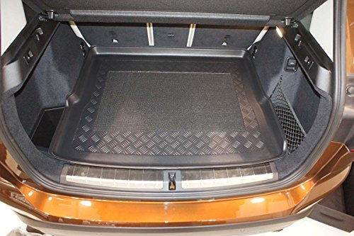 flat loading threshold 7228 MTM Boot Liner Q2 from 10.2016- Tailored Trunk Mat with Antislip additional description: on adjustable boot floor in upper position ; wings removable cod