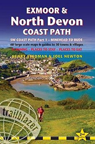 Kindle eBooks Download: Exmoor & North Devon Coast Path: Trailblazer British Walking Guide: Part 1: South West Coast Path Practical Walking Guide from Minehead to Bude with … 30 Towns & Villages (British Walking Guides) PDF
