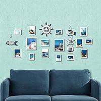 Daeou Foto pared decorativo pared portaretrato colgante dormitorio combinación de pared pared de la foto