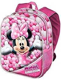Karactermania 36240 Minnie Mouse Bubblegum  Mochilas Infantiles, 31 cm, Rosa
