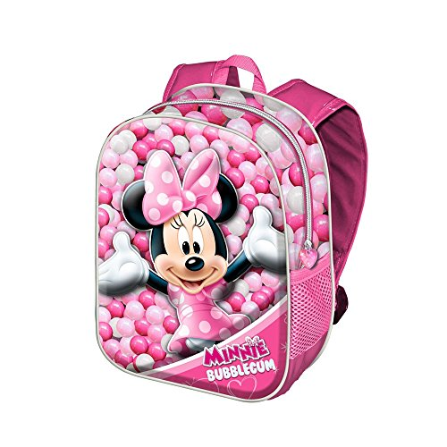 Minnie mouse bubblegum zainetto per bambini, 31 cm, rosa