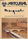 ARTCURIAL -CENTRE D'ART PLASTIQUE CONTEMPORAIN - MARS 1981 / MARQUET / JIME DINE - ETIENNE MARTIN - ALBERT MARTIN - ALEXANDRE ISTRATI - LE 13 NOVEMBRE 1980 - MITORAJ - LES SOLEILS DE NICOLAS SCHOFFER - LA MODE PARLE....