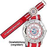 FC Bayern München Uhr 10860 Kids rot