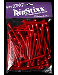 Forma larga RipStixx Golf Tees 65 Mustang rojo 6,99 cm