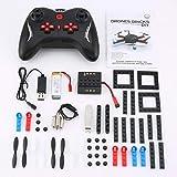 JullyeleDEgant L222 Mini Micro RC RC Baustein 3D Ziegel Quadcopter Drohne Flugzeug UAV mit Flips Headless Modus DIY für Anfänger Geschenk