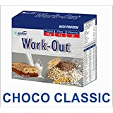 RiteBite Work Out Choco Classic High Protein Bar - Pack of 6