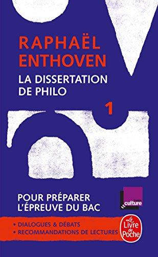 La Dissertation de philo (Classiques Philo) por Raphaël Enthoven