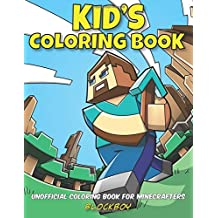 Unofficial Coloring Book for Minecrafters: Kid's Coloring Book