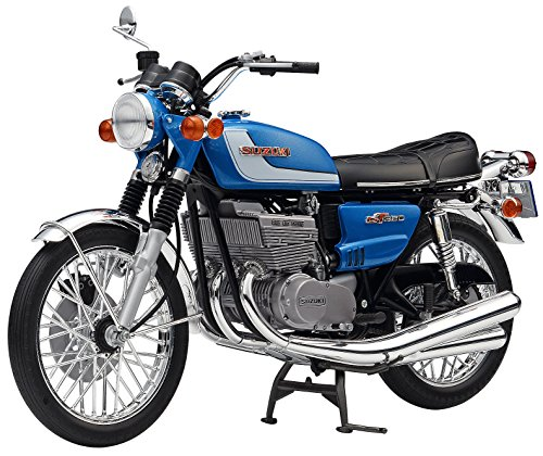 Hasegawa 1972 Suzuki GT380 B Motorrad Bike 1:12 Model Kit Bausatz 21505