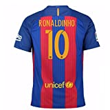 2016-17 Barcelona Sponsored Home Shirt (Ronaldinho 10) - Kids