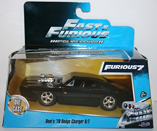 NEW - JADA 1:32 Scale FAST AND FURIOUS 7 DOM\'S \'70 DODGE CHARGER R/T Off Road by Fast & Furious