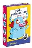 Cartes éducatives Monstres - Jeu de conjugaison