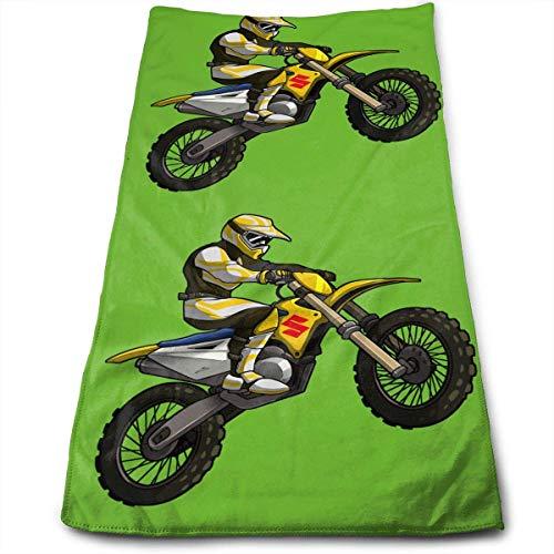 Hipiyoled Got Dirt Bike Motocross Logo Fade-Resistant Super Absorbent Shower\Beach\Bath Towels Workout,Gym,Fitness,Golf,Yoga,Camping,Hiking,Bowling,Travel,Outdoor Sports Towel