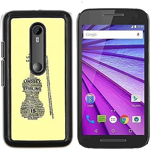 EJOOY---Pelle della copertura di caso di protezione dura ** Motorola
