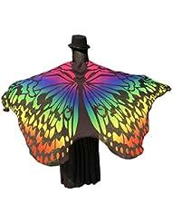 Bufanda mujer Sannysis Estolas Alas de mariposa 197 X 125CM (08)