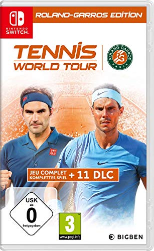 Tennis World Tour RG Edition Classics Nintendo Switch