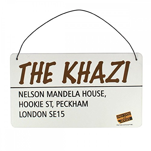 Only Fools & Horses Gift Tin Plaque 'The Khazi'