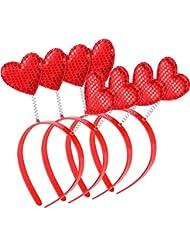 Mutter & Kinder 1 Pc Kinder Neuheit Kunststoff Haarbänder Glitter Pailletten Stirnband Gradienten Farbe Herz Stern Muster Haarband Mädchen Stirnbänder