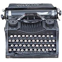 ZhongYi Adornos de máquina de Escribir Antigua Vintage del Hierro