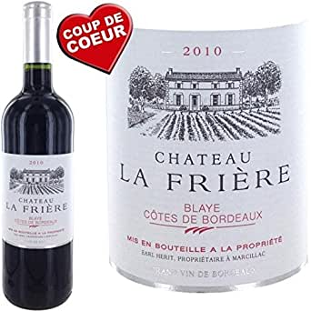 Aucune - Château La Friere 2010 Blaye Côtes De Bordeaux