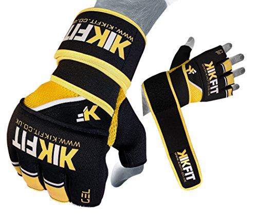 KIKFIT GEL GREIF MMA Handschuhe Boxbandagen Muay Thai Training Boxsack L / XL