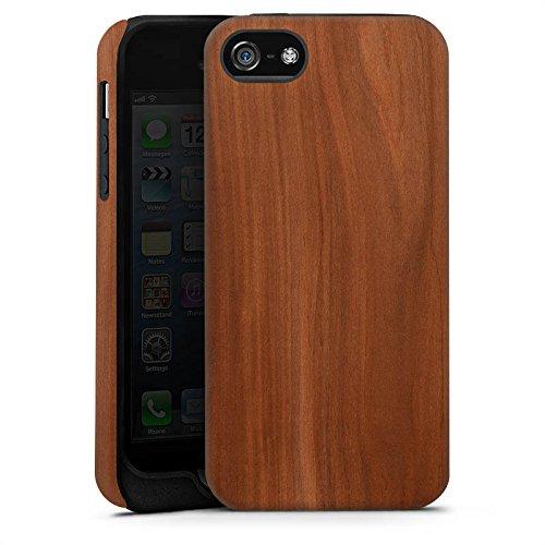 Apple iPhone 6s Hülle Premium Case Cover Kastanie Holz Look Tough Case matt
