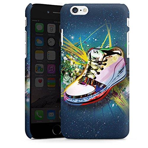 Apple iPhone X Silikon Hülle Case Schutzhülle Schuhe Sneaker Muster Premium Case matt