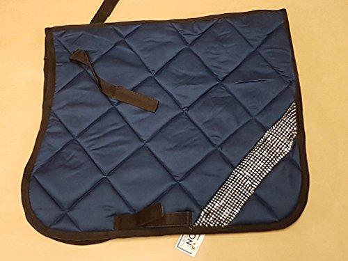 Schabracke Polly Glitzer Satteldecke Minishetty Minipony Shetty Falabella Grün Rot Blau Braun Tysons (Minishetty, Blau)