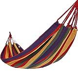 Zheng Hui Shop Hamacas Cuartos de Camping para Acampar al Aire Libre Que acampan Columpios envío Hamaca de Barra de Color Rojo de Cuerda de conexión