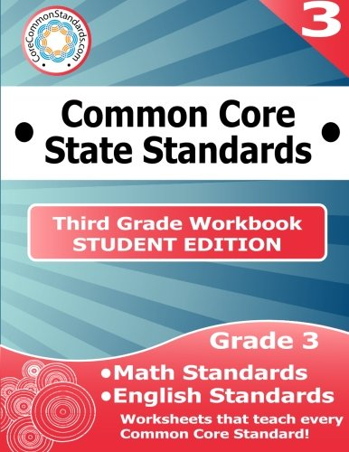 Third Grade Common Core Workbook - Student Edition