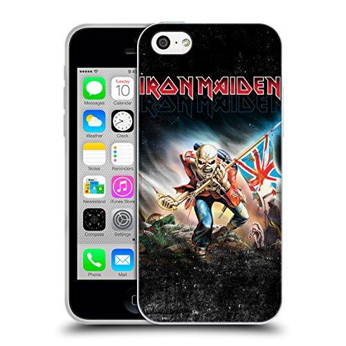 Ufficiale Iron Maiden Best Of Beast Arte Cover Morbida In Gel Per Apple iPhone 6 / 6s Trooper 2016