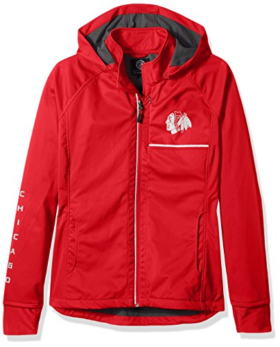 Schnitt Rückseite Soft Shell Jacke, Damen, Cut Back Soft Shell Jacket, rot, Large (Shell Soft Hockey)