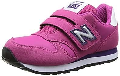 New Balance Kids Lifestyle 373 filles, cuir lisse, sneaker low, 30 EU